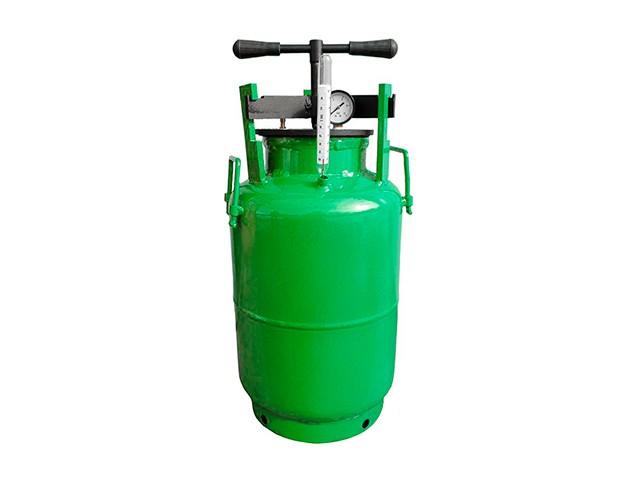 Автоклави з газового балона
