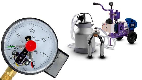 Вакуумное давление доильного аппарата: норма и настройка