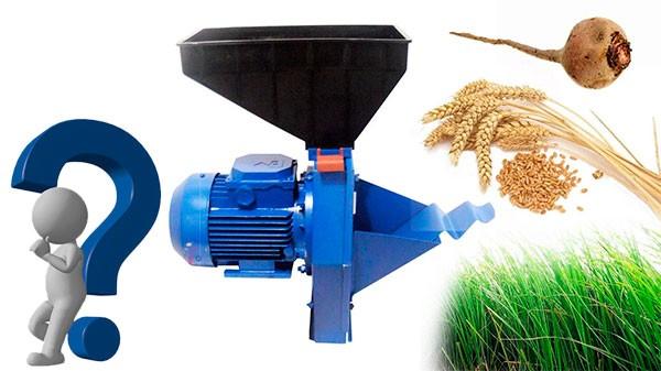 Яка зернодробарка краще для домашнього господарства