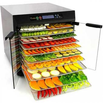 ТОП-5 рецептов для сушилки овощей и фруктов