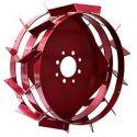 Грунтозацепы (колеса) ф450 на широкой полосе
