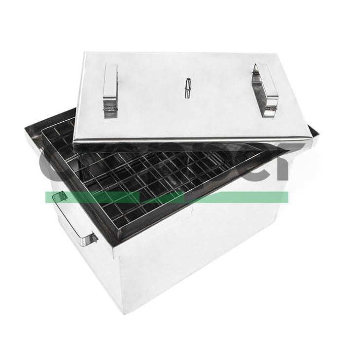 Коптильня з гідрозатвором HousePro-430 (нержавіюча сталь)