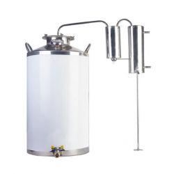 Дистиллятор Cropper ПРЕМИУМ газовый на 50 литров с сухопарником