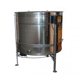 Медогонка радиальная (27Д\54Р\54П) нержавеющая (AISI 304) ременная  с подставкой, крышкой и электроприводом (М93256)