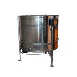 Медогонка радиальная (27Д\54Р\54П) нержавеющая (AISI430) ременная с подставкой, крышкой и электроприводом (М93251)