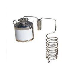 Непроточный дистиллятор Cropper на 40 литров с сухопарником