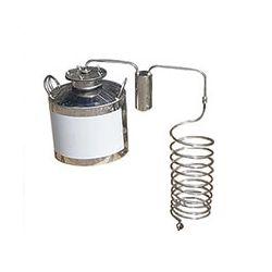 Непроточный дистиллятор Cropper на 50 литров с сухопарником