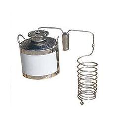 Непроточный дистиллятор Cropper на 60 литров с сухопарником