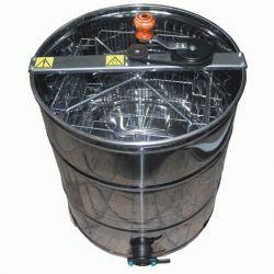 Медогонка 4 - х рамочная неповоротная нержавеющая с ротором из черной стали (М93240)