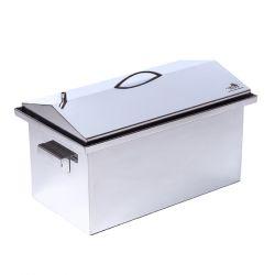 Коптильня Smoke-House: 520x300x310, с термометром, домик, нерж 2 мм