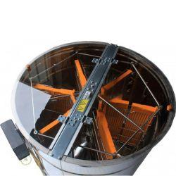 Медогонка 6 - ти рамкова синхронно поворотна нержавіюча автоматична (М93259)