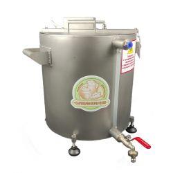 Домашняя автоматическая сыроварня Перваченко 20 л с сенсорным управлением и сливным краном