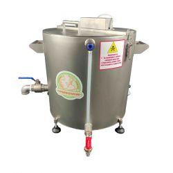 Домашняя автоматическая сыроварня Перваченко 30 л с сенсорным управлением и сливным краном