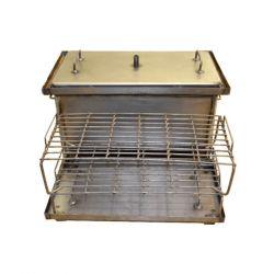 Коптильня Hot Smoking: 520х310х280, крышка плоская, сталь 1.5 мм