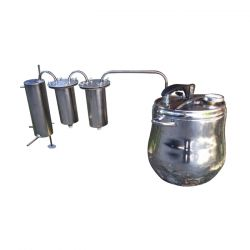 Дистиллятор-скороварка Профи 9 с двумя сухопарниками