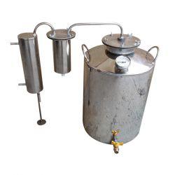 Дистиллятор Cropper ПРЕМИУМ газовый на 60 литров с разборным сухопарником