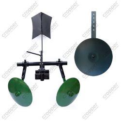 Картофелесажалка оборотная с колесом (посадочный модуль)