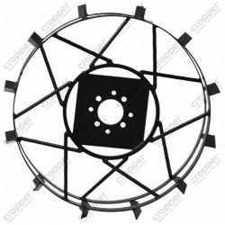 Колёса с грунтозацепами Ф600-110 мм для мотоблоков