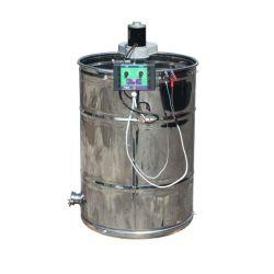Медогонка 2 - х рамочная неповоротная нержавеющая с электроприводом (М93231А)