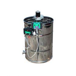 Медогонка 2 - х рамочная неповоротная нержавеющая с электроприводом ременная (М93231В)