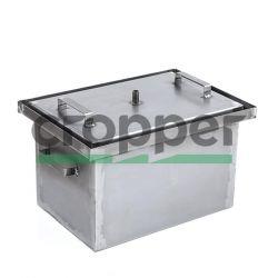 Коптильня с гидрозатвором HousePro-430 (усиленная 2мм)
