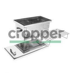 Коптильня с гидрозатвором HousePro-560 (нержавейка)
