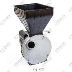 """Зернодробарка """"Газда М80"""" (2,5 кВт, молоткова, для зерна та качанів кукурудзи)"""