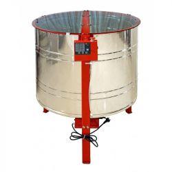 Медогонка 6 - ти рамкова автоматична нержавіюча ремінна АВВ-100 (6AB)