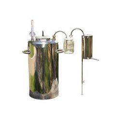 Автоклав-самогонный аппарат со стеклянным сухопарником (электрический)