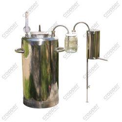 Автоклав-самогонний апарат зі скляним сухопарником (електричний)