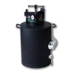 Электрический автоклав из черной стали для консервирования Укрпромтех «Че-16 электро»