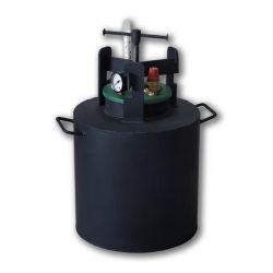 Автоклав из черной стали для консервирования Укрпромтех «Че-16»