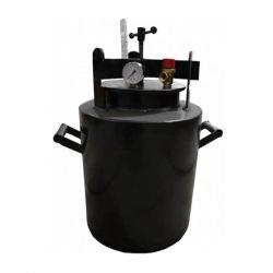 Автоклав из черной стали для консервирования Укрпромтех «Че-22»