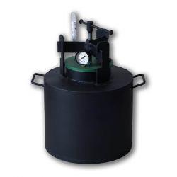 Автоклав из черной стали для консервирования Укрпромтех «Че-8»