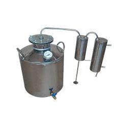 Дистилятор Cropper газовий на 40 літрів з сухопарником, вугільної колоною і папугою