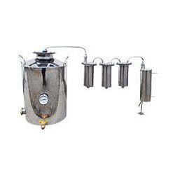 Дистилятор Cropper ПРЕМІУМ електричний-газовий на 30 літрів з трьома сухопарниками