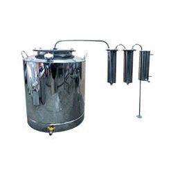 Дистиллятор Cropper ПРЕМИУМ газовый на 100 литров с двумя сухопарниками