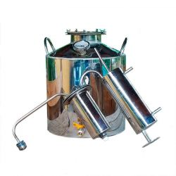 Дистиллятор Cropper ПРЕМИУМ газовый на 20 литров с разборным сухопарником
