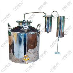 Дистиллятор Cropper ПРЕМИУМ газовый на 25 литров с разборным сухопарником