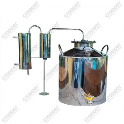 Дистиллятор Cropper ПРЕМІУМ газовий на 25 літрів з сухопарнику