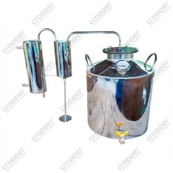 Дистилятор Cropper ПРЕМІУМ газовий на 30 літрів з сухопарником