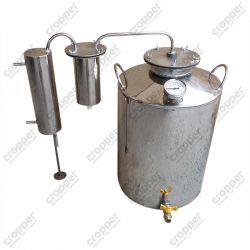 Дистиллятор Cropper ПРЕМИУМ газовый на 40 литров с разборным сухопарником