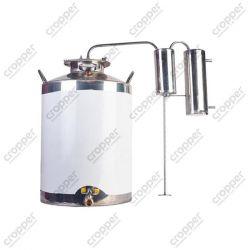 Дистилятор Cropper ПРЕМІУМ газовий на 40 літрів з сухопарником