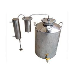 Дистиллятор Cropper ПРЕМИУМ газовый на 50 литров с разборным сухопарником