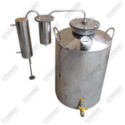Дистиллятор Cropper ПРЕМИУМ газовый на 80 литров с разборным сухопарником