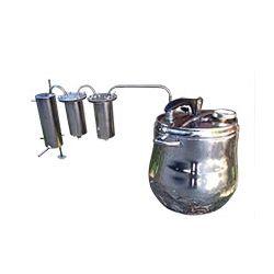 Дистилятор-скороварка Профі 15 з двома сухопарниками