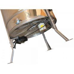 Медогонка радиальная нержавеющая (AISI 430) с подставкой, крышкой и электроприводом (М93298)