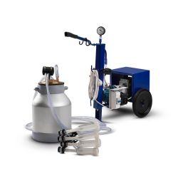 Доильный аппарат для коз DaMilk АИД-1 алюминий классическая схема (на две козы)