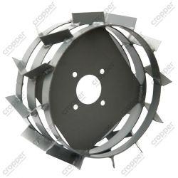 Грунтозацепы (колеса) ф390 на широкой полосе