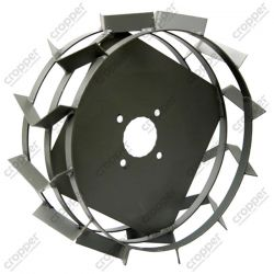 Грунтозацепы для мотоблока (железные колеса) ф 450-160